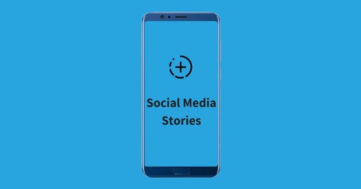 Trend of Social Media Stories